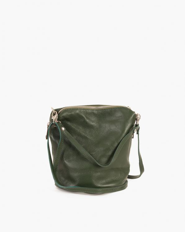 Zielona torebka damska skórzana  027 100 ZIELONA