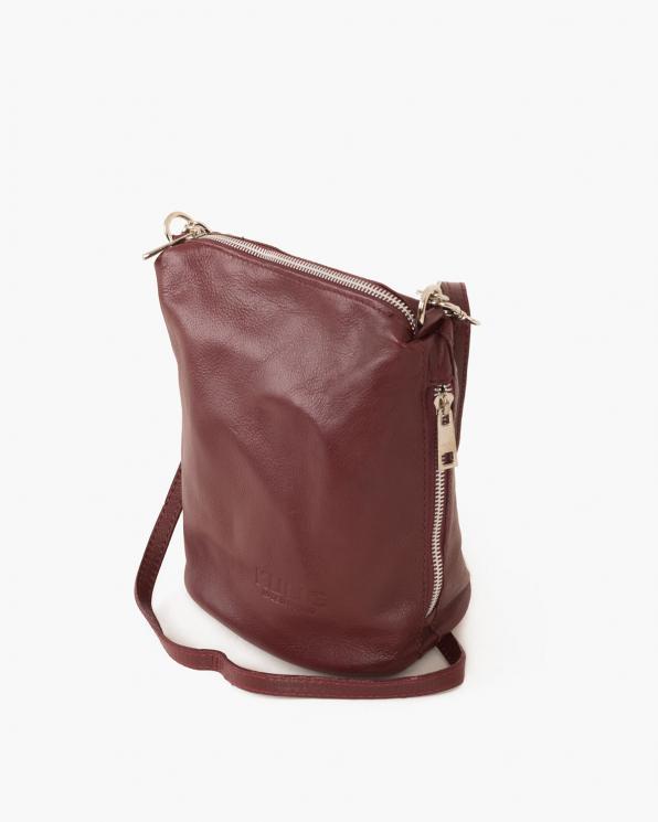Bordowa torebka damska skórzana  027 100 BORDOWA