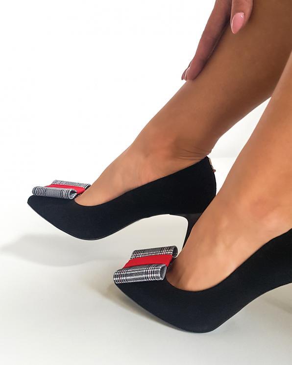 Wielokolorowe klipsy do butów z motywem  COQ-1066