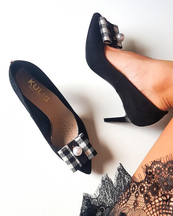 Wielokolorowe klipsy do butów z perełką  COQ-1059