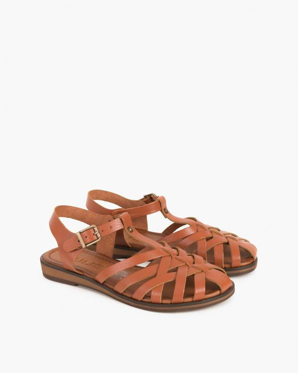 Rude sandały damskie skórzane  097-3081-RUDY