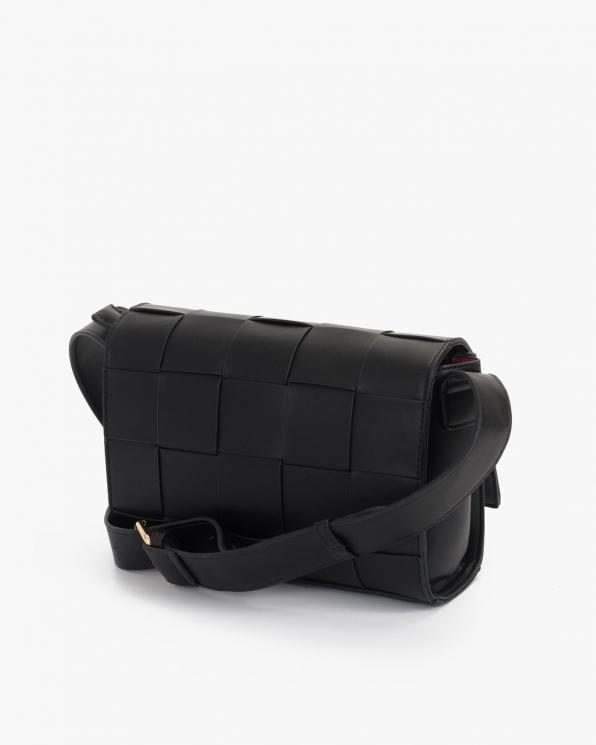 Czarna torebka damska skórzana  TOR-282310-FOR