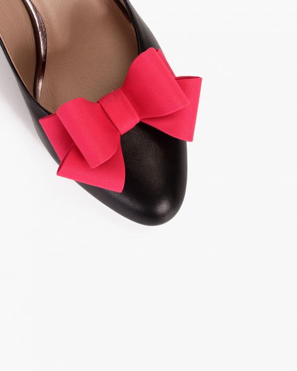 Różowe kokardki do butów  COQ-692-PINK