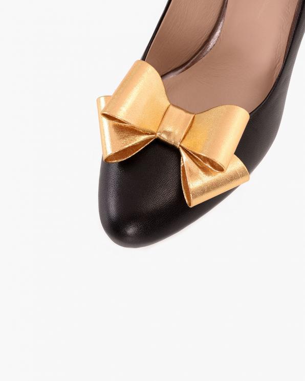 Złote kokardki do butów  COQ-584-GOLD