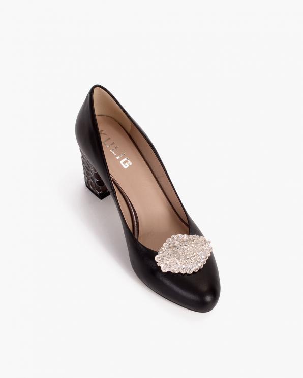 Złote klipsy do butów z cyrkoniami  COQ-1244-SPARKLE