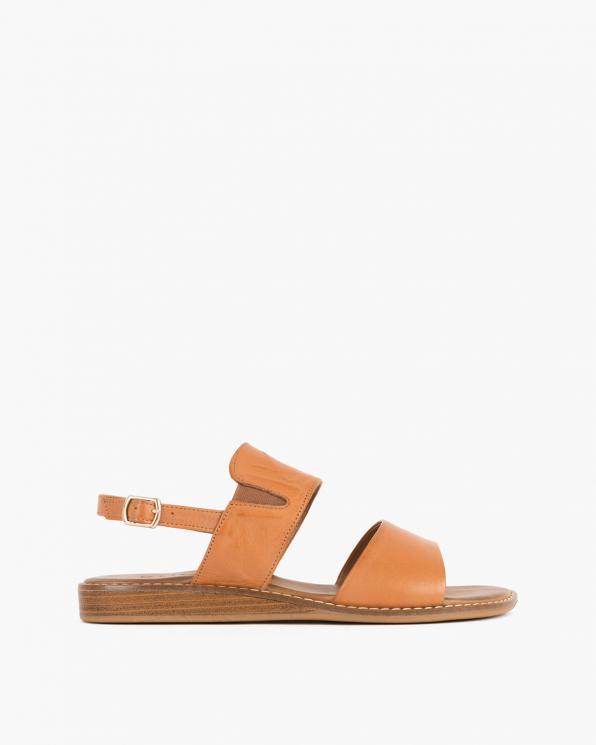 Rude sandały damskie skórzane  086-2372-074