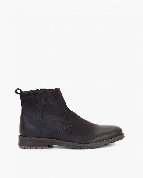 Bordowe sandały skórzane 062 -300-JAGODA