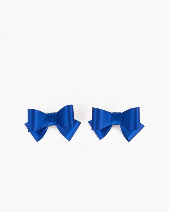 Niebieskie kokardki do butów COQ-579