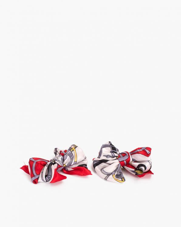 Czerwone kokardki apaszki do butów  COQ-1147
