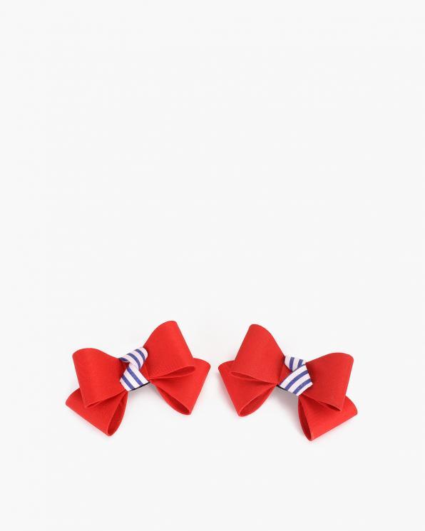 Czerwone kokardki do butów  COQ-879-TWRILY
