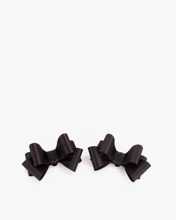 Czarne kokardki do butów COQ-53-CZARNE